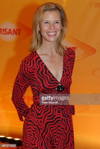 """Leslie Malton, MDR """"Brisant Brillant 2007"""" Verleihung, München, Bayern, Deutschland, Europa, Preis, Auszeichnung, roter Teppich, Schauspielerin,..."""