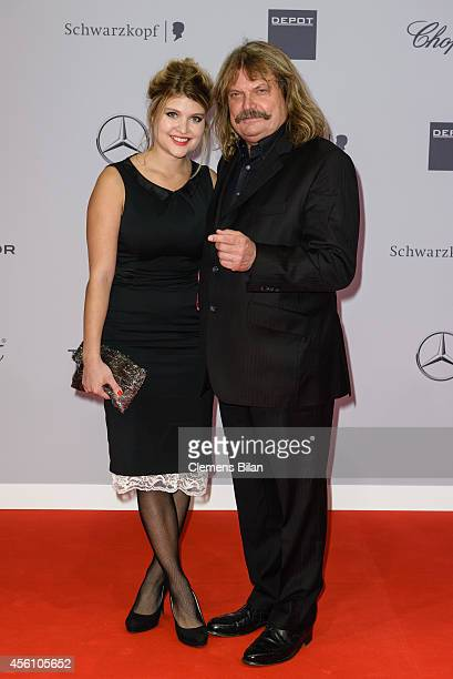 Leslie Mandoki and Lara attend the Tribute To Bambi 2014 at Station on September 25 2014 in Berlin Germany