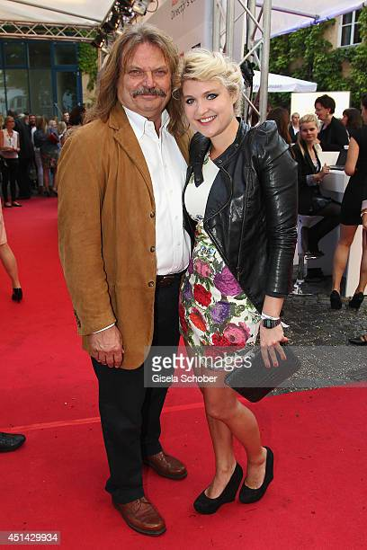 Leslie Mandoki and Lara Mandoki attend the Audi Director's Cut as part of Filmfest Munich at Praterinsel on June 28 2014 in Munich Germany