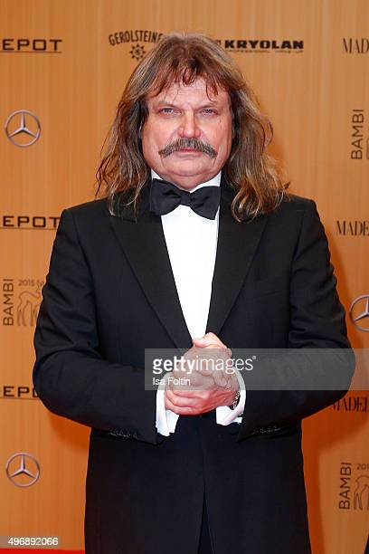 Leslie Mandoki attends the Bambi Awards 2015 at Stage Theater on November 12 2015 in Berlin Germany