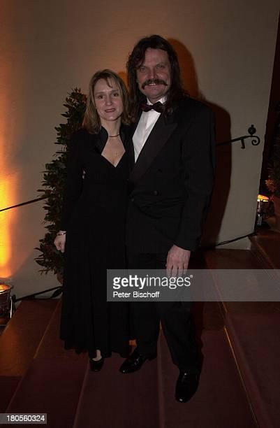 Leslie Mandoki und Frau Eva, Deutscher;Videopreis 2001, München,;Gala-Veranstaltung,
