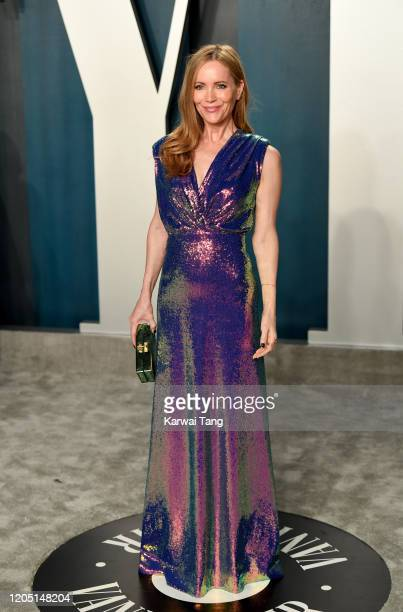 Leslie Mann arriving for the 2020 Vanity Fair Oscar Party Hosted By Radhika Jones, at the Wallis Annenberg Center for the Performing Arts on February...