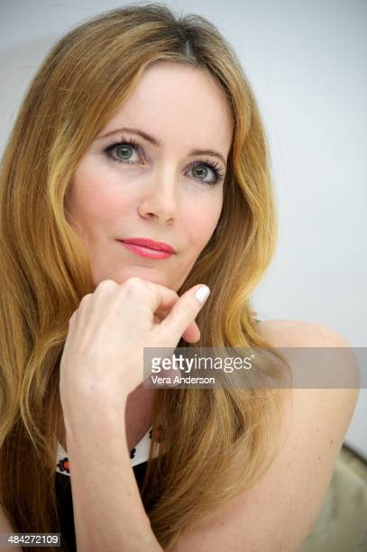 Leslie Mann at 'The Other Woman' Press Conference at the Four Seasons Hotel on April 10 2014 in Beverly Hills California