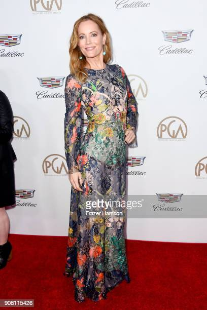 Leslie Mann attends the 29th Annual Producers Guild Awards at The Beverly Hilton Hotel on January 20 2018 in Beverly Hills California