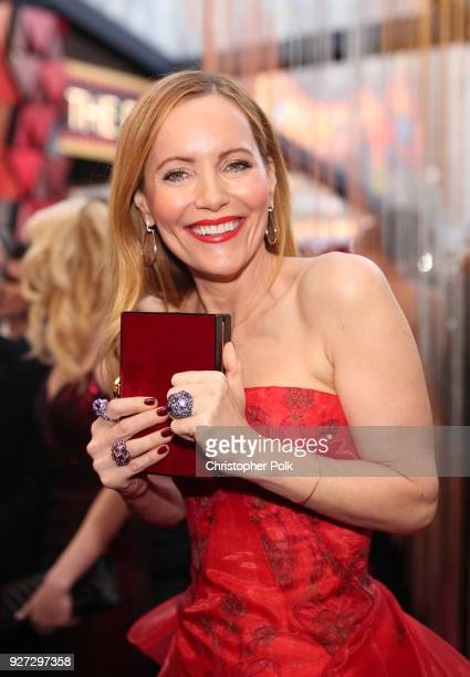 Leslie Mann attends the 90th Annual Academy Awards at Hollywood Highland Center on March 4 2018 in Hollywood California