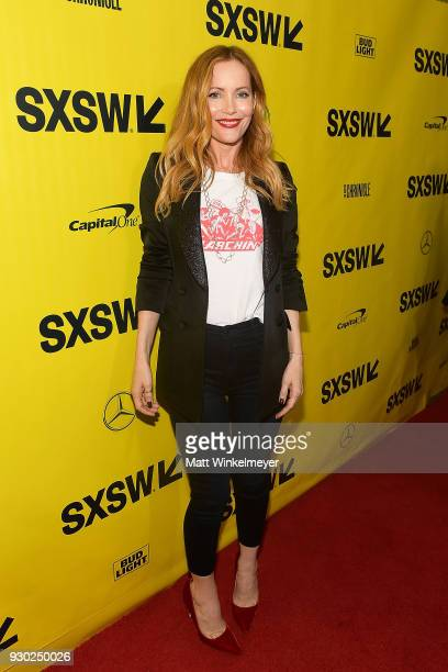 Leslie Mann attends the Blockers Premiere 2018 SXSW Conference and Festivals at Paramount Theatre on March 10 2018 in Austin Texas