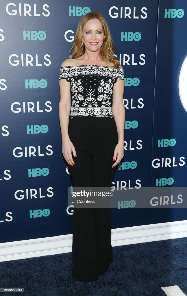 Leslie Mann attends The New York Premiere Of The Sixth & Final Season Of 'Girls' at Alice Tully Hall, Lincoln Center on February 2, 2017 in New York City.