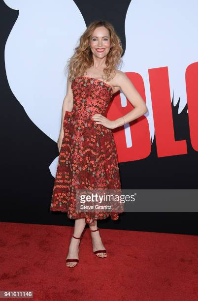 Leslie Mann attends the premiere of Universal Pictures' Blockers at Regency Village Theatre on April 3 2018 in Westwood California