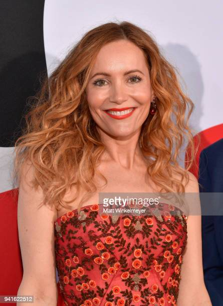 Leslie Mann attends the premiere of Universal Pictures' 'Blockers' at Regency Village Theatre on April 3 2018 in Westwood California