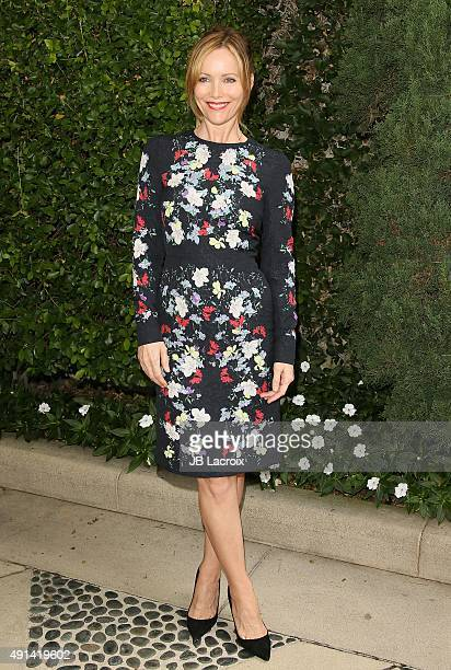 Leslie Mann attends the Rape Foundation's Annual Brunch held at the Greenacres the private estate of Ron Burkle on October 4 2015 in Beverly Hills...