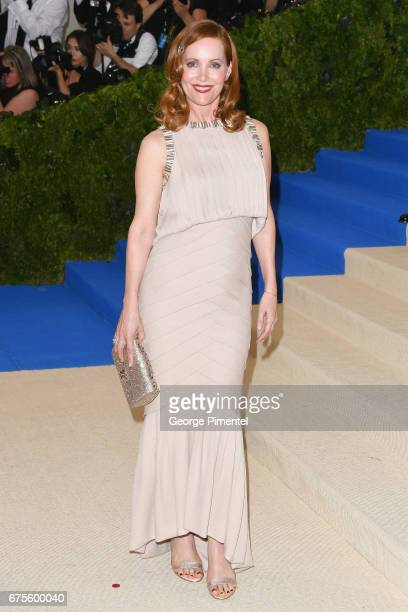 Leslie Mann attends the 'Rei Kawakubo/Comme des Garcons Art Of The InBetween' Costume Institute Gala at Metropolitan Museum of Art on May 1 2017 in...