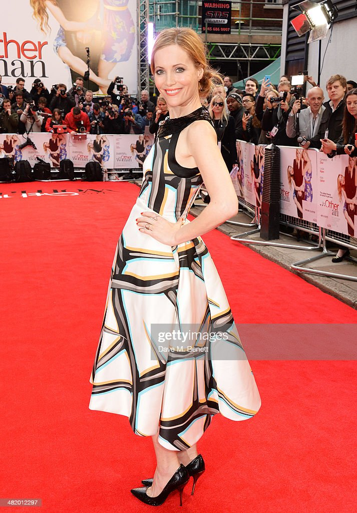 Leslie Mann attends the UK Gala Premiere of 'The Other Woman' at The Curzon Mayfair on April 2, 2014 in London, England.