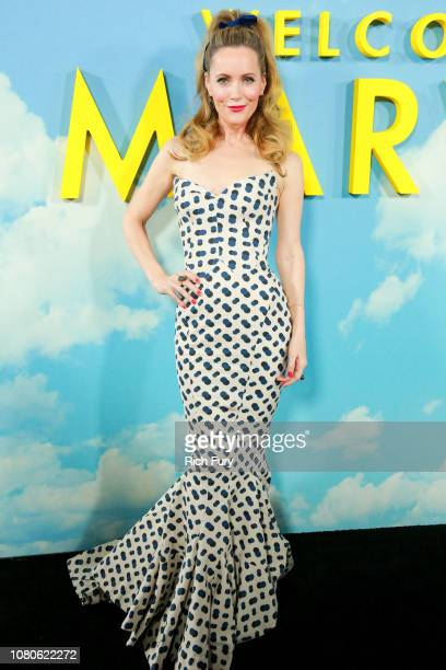 Leslie Mann attends Universal Pictures and DreamWorks Pictures' premiere of 'Welcome To Marwen' at ArcLight Hollywood on December 10 2018 in...