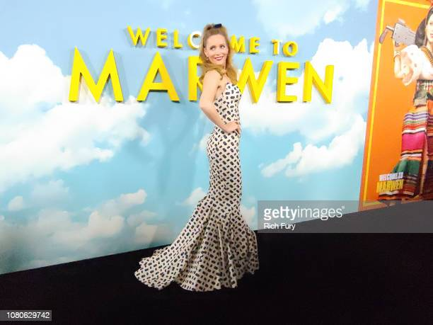 Leslie Mann attends Universal Pictures and DreamWorks Pictures' premiere of 'Welcome To Marwen' at ArcLight Hollywood on December 10, 2018 in...