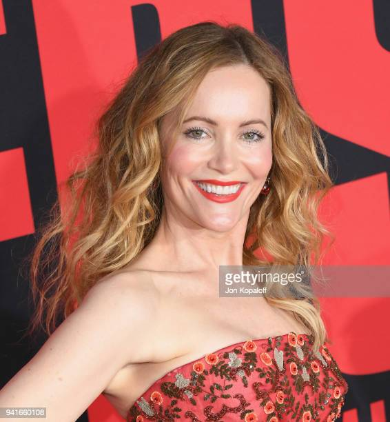 Leslie Mann attends Universal Pictures' 'Blockers' Premiere at Regency Village Theatre on April 3 2018 in Westwood California