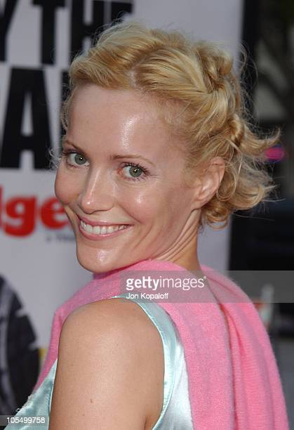 Leslie Mann during 'DodgeBall A True Underdog Story' World Premiere Arrivals at Mann Village Theatre in Westwood California United States