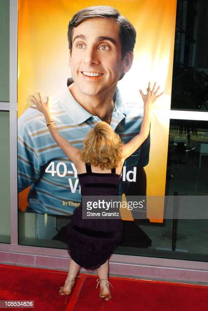 """Leslie Mann during """"The 40-Year-Old Virgin"""" Los Angeles Premiere - Arrivals at ArcLight Theatre in Hollywood, California, United States."""