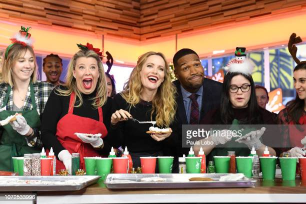 AMERICA Leslie Mann is a guest on Good Morning America on Thursday December 13 airing on the Walt Disney Television via Getty Images LESLIE