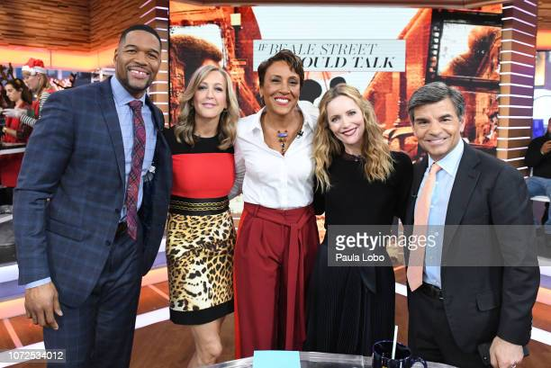AMERICA Leslie Mann is a guest on Good Morning America on Thursday December 13 airing on the ABC MICHAEL