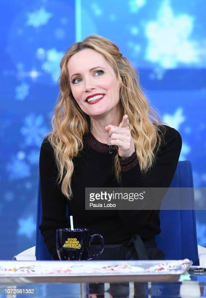 """Leslie Mann is a guest on """"Good Morning America,"""" on Thursday, December 13 airing on the Walt Disney Television via Getty Images. LESLIE MANN"""
