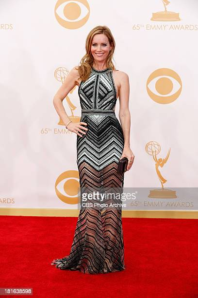 Leslie Mann on the Red Carpet for the 65th Primetime Emmy Awards which will be broadcast live across the country 8001100 PM ET/ 500800 PM PT from...
