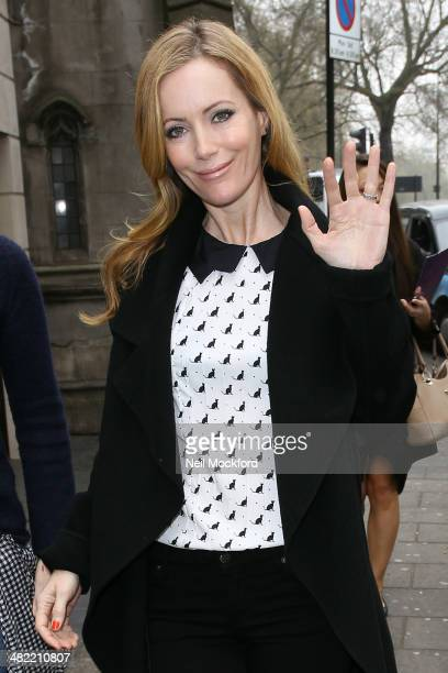 Leslie Mann seen leaving her hotel on April 3 2014 in London England