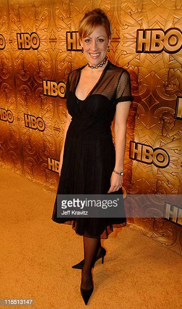 Leslie Martinelli during HBO 2006 Golden Globes After Party Inside at Aqua Star Pool at the Beverly Hilton Hotel in Beverly Hills California United...