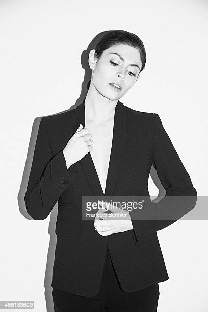 Leslie Medina is photographed for Self Assignment on March 9 2015 in Paris France