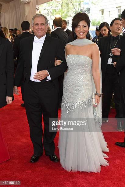 Leslie Moonves and Julie Chen attend the China Through The Looking Glass Costume Institute Benefit Gala at the Metropolitan Museum of Art on May 4...