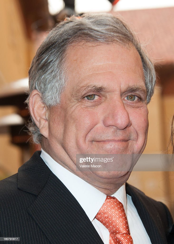 Leslie Moonves attends the Dedication of The Sumner M. Redstone Production Building at USC on February 5, 2013 in Los Angeles, California.