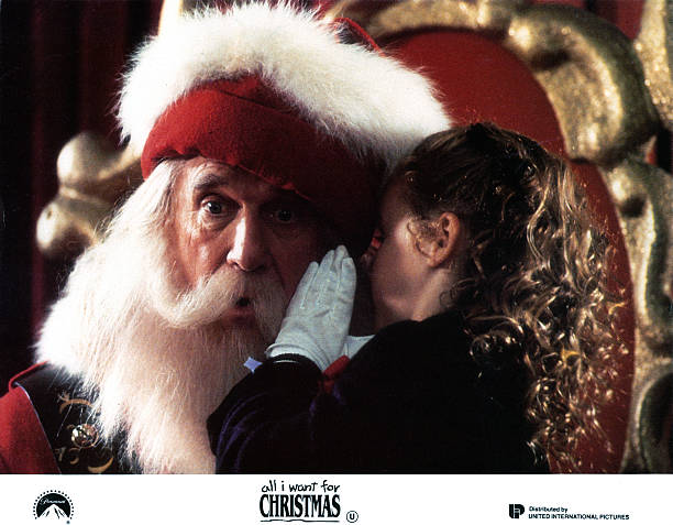 leslie nielsen and thora birch in all i want for christmas - All I Want For Christmas 1991
