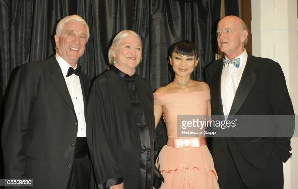 Leslie Nielsen Louise Fletcher Bai Ling and Peter Boyle