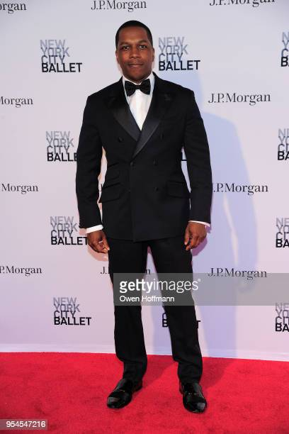Leslie Odom Jr attends New York City Ballet 2018 Spring Gala at David H Koch Theater Lincoln Center on May 3 2018 in New York City