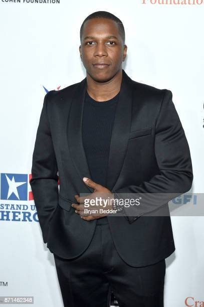 Leslie Odom Jr attends the 11th Annual Stand Up for Heroes Event presented by The New York Comedy Festival and The Bob Woodruff Foundation at The...