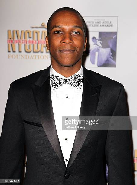 Leslie Odom Jr attends the 2012 Fred and Adele Astaire Awards at the NYU Skirball Center on June 4 2012 in New York City