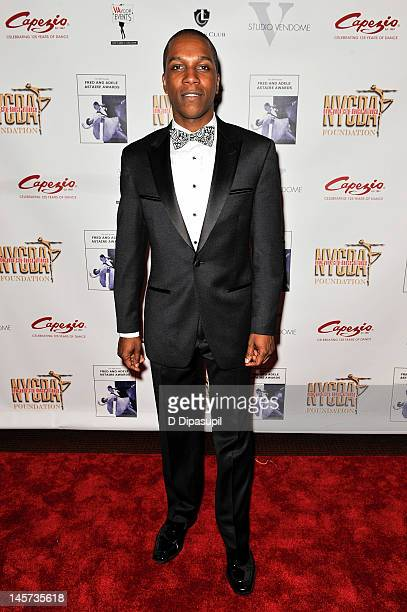 Leslie Odom Jr attends The 30th Annual Fred Adele Astaire Awards at Skirball Center NYU on June 4 2012 in New York City