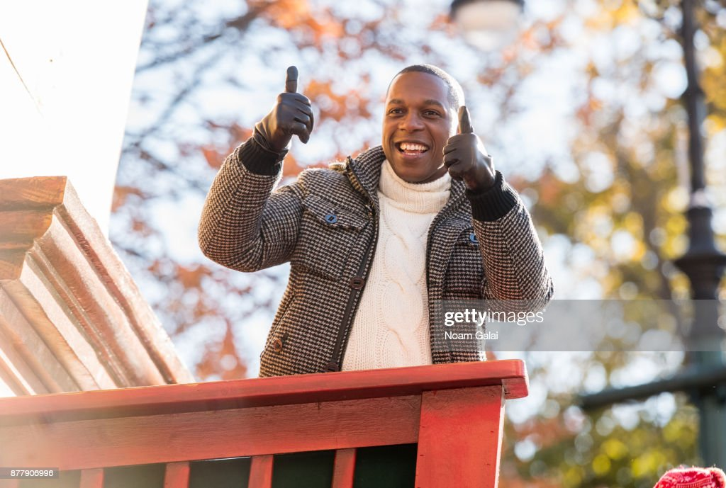 Leslie Odom Jr. attends the 91st Annual Macy's Thanksgiving Day Parade on November 23, 2017 in New York City.