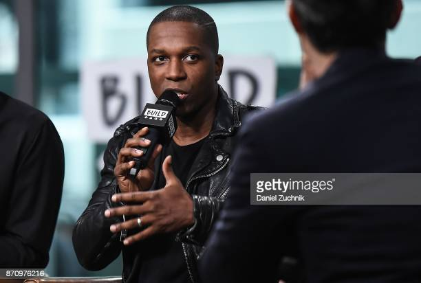 Leslie Odom Jr attends the Build Series to discuss the new film 'Murder on The Orient Express' at Build Studio on November 6 2017 in New York City