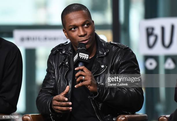 Leslie Odom Jr. Attends the Build Series to discuss the new film 'Murder on The Orient Express' at Build Studio on November 6, 2017 in New York City.