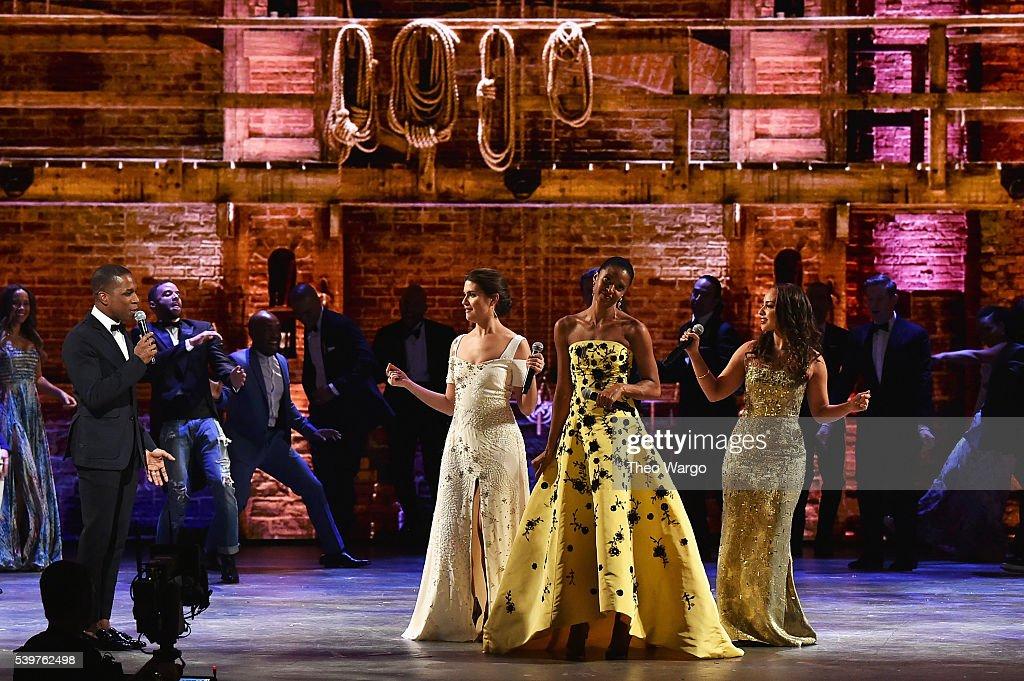 2016 Tony Awards - Show : News Photo