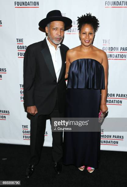 Leslie Parks attends the 2017 Gordon Parks Foundation Awards Gala at Cipriani 42nd Street on June 6 2017 in New York City