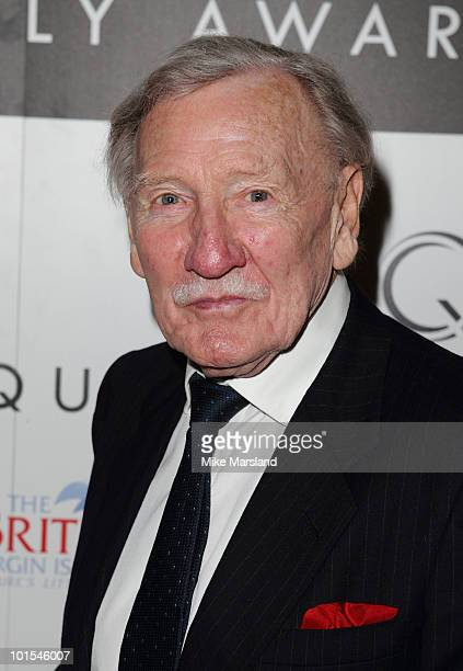Leslie Phillips attends the Quintessentially Awards at Freemasons Hall on June 1 2010 in London England