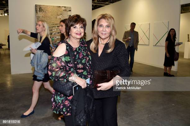 Leslie Rosenzweig and Judith Ripka attend Art Basel Miami Beach Private Day at Miami Beach Convention Center on December 6 2017 in Miami Beach Florida