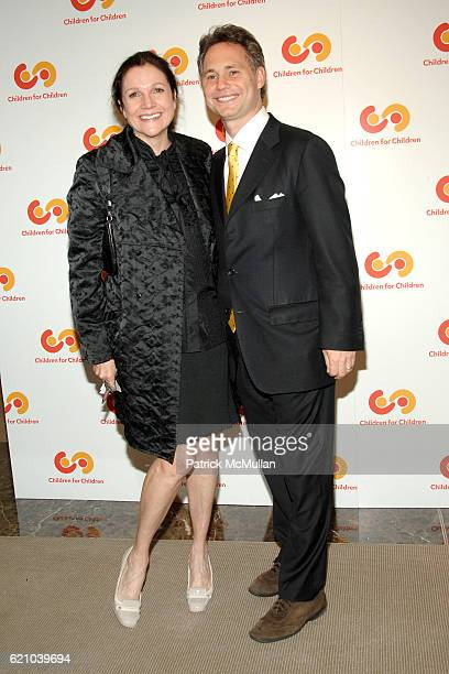 Leslie Stevens and Jason Binn attend CHILDREN FOR CHILDREN Hosts THE ART OF GIVING Benefit at Christie's on May 21 2008 in New York City