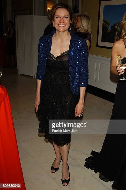 Leslie Stevens attends Museum of the City of New York Director's Council 20th Annual Winter Ball arrivals and cocktails at Museum of the City of New...