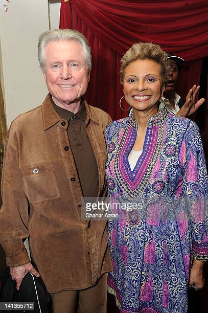 Leslie Uggams and her husband Grahame Pratt attends Amateur Night at the Apollo Broadway at The Apollo Theater on March 14 2012 in New York City