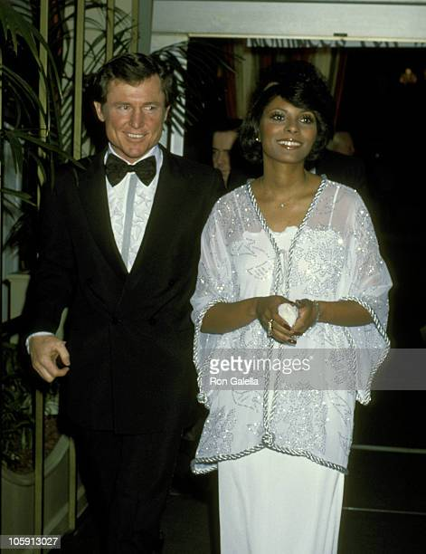 Leslie Uggams and Husband Grahame Pratt during 35th Annual Golden Globe Awards at Beverly Hilton Hotel in Beverly Hills California United States