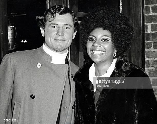 Leslie Uggams and Husband Grahame Pratt during Actors Studio Party November 25 1968 at Village Gate in New York City New York United States