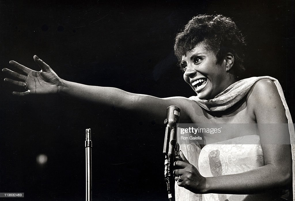 Leslie Uggams during United Jewish Appeal - June 11, 1967 at Madison Square Garden in New York City, New York, United States.