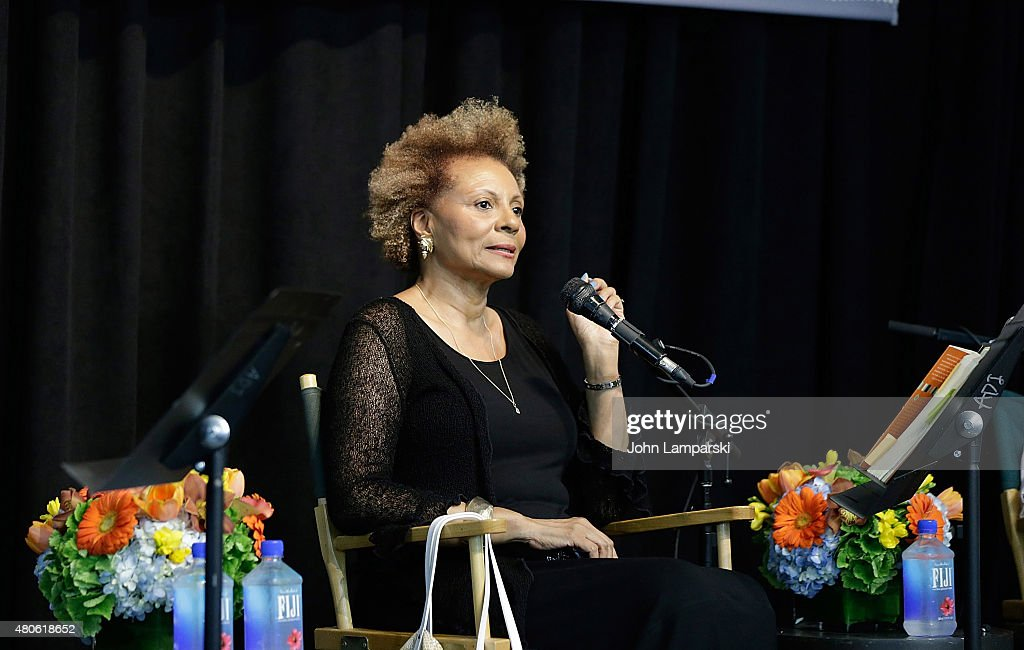 Leslie Uggams speaks during the Harper Lee celebration with Wally Lamb and Leslie Uggams in conversation with Bill Goldstein at Barnes & Noble Union Square on July 13, 2015 in New York City.